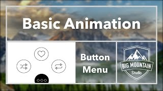 How to Animate a Button Menu (iOS, Xcode 8, Swift 3)