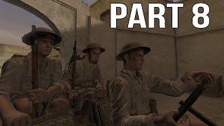 getlinkyoutube.com-Call of Duty 2 Gameplay Walkthrough Part 8 - British Campaign - Rommel's Last Stand