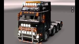 getlinkyoutube.com-Euro Truck Simulator 2 Volvo Tuning 8×4 Mod v 1.5