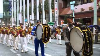 getlinkyoutube.com-DC Akpol Den 45 Kirab @Ginza Street, Tokyo, Japan.mp4