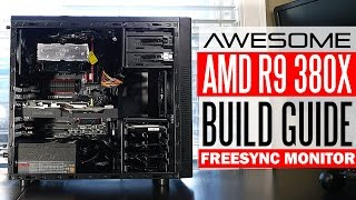 getlinkyoutube.com-Awesome $800 Gaming PC Build Guide & Benchmarks - AMD R9 380X/ FX 8370 @5Ghz