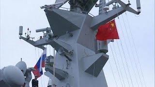 Rusia y China se exhiben ante la OTAN