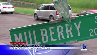 Incrementa la muerte de peatones por accidentes en la ciudad de St. Paul