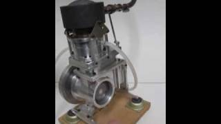 getlinkyoutube.com-Rocker V 35cc Stirling Engine