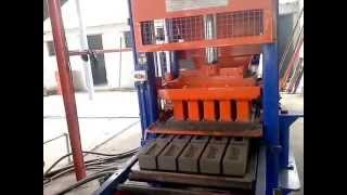getlinkyoutube.com-fly ash Brick making fully automatic machine in India