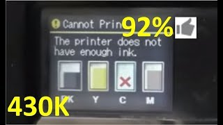 getlinkyoutube.com-The printer does not have enough ink - fix it in 2 minutes!