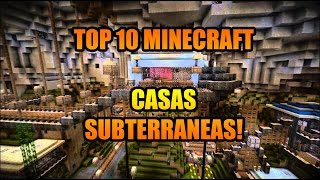 getlinkyoutube.com-TOP 10 CASAS SUBTERRANEAS MINECRAFT- ¡IMPRESIONANTE!