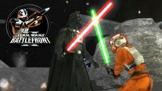 getlinkyoutube.com-Star Wars Battlefront II Mods (PC) HD: Sol Map Pack - Earth: Luna | Galactic Civil War