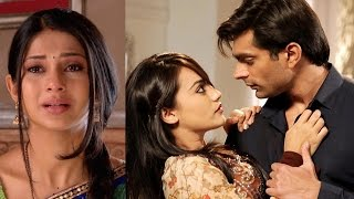 getlinkyoutube.com-Qubool Hai onscreen Asad and Zoya ROMANCE TROUBLES Jennifer...!!