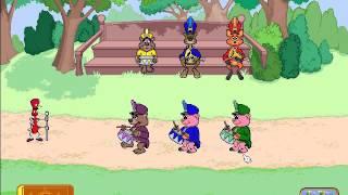 getlinkyoutube.com-Reader Rabbit Preschool - Part 2: Pattern Parade (Ticket 1)