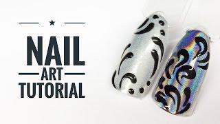 getlinkyoutube.com-Holo Effect & Metal Manix Silver Nail Art Tutorial  ||  My Wonderland