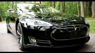 Tesla Model S P85 Test Drive - The Best Car Ever?