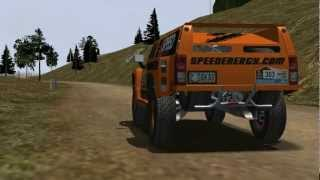 rFactor Hummer H3 Dakar Physics Test