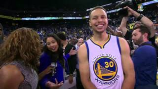 Ayesha Curry post-game