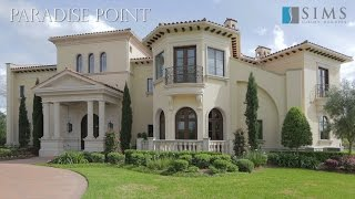 getlinkyoutube.com-Architecture Spotlight #61 | Paradise Point by Sims Luxury Builders | Sugar Land, Texas