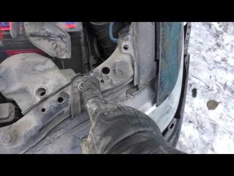 Замена блока розжига ксенона Honda Accord 7