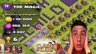 getlinkyoutube.com-RECORD : 1.101.000 ORO - EPIC ATTACK Clash Of Clans
