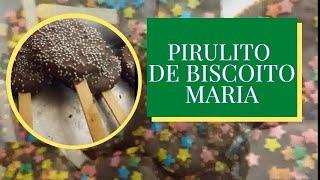 getlinkyoutube.com-Como fazer,pirulito de Biscoito Maria.
