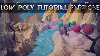 getlinkyoutube.com-Low Poly Landscape Tutorial | Mountains, Water and More | Cinema 4D