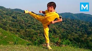 getlinkyoutube.com-Ryusei Imai - Reincarnation of Bruce Lee | Muscle Madness