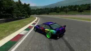getlinkyoutube.com-Live for Speed | BMW E36 Coupe real engine and exhaust sound - JapStyle Drifting