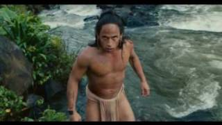 getlinkyoutube.com-Apocalypto - Jaguar Paw introduces himself to an audience of  people who want him dead!