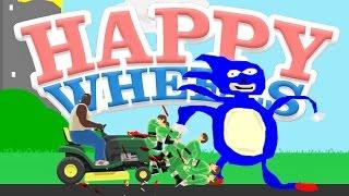 getlinkyoutube.com-GOTTA GO FAST! | Happy Wheels FR