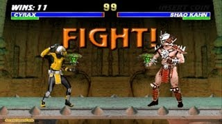 Mortal Kombat 3 arcade Cyrax Gameplay Playthrough