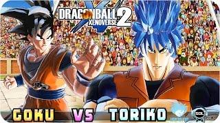 getlinkyoutube.com-Toriko VS Goku - Dragon Ball Xenoverse 2 CrossOver mod