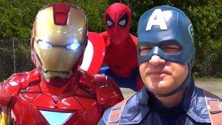 getlinkyoutube.com-CAPTAIN AMERICA: CIVIL WAR PARODY! (Marvel Spoof)