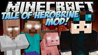 getlinkyoutube.com-THE TALE OF HEROBRINE | Minecraft: Mod Showcase