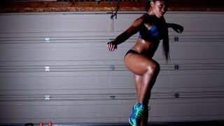 getlinkyoutube.com-Lower Body Sculpting and Booty Lifting Workout with @KeairaLaShae