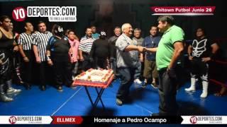 Homenaje a Baby Richard y Pedro Ocampo en Chitown Futbol y ELLMEX