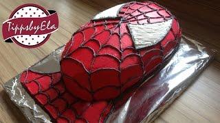 getlinkyoutube.com-How to make a Spiderman Cake Spider-Man Torte selber machen Tutorial