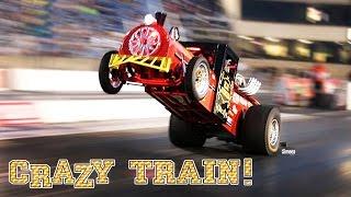 CRAZY TRAIN! BLOWN BBC! 10 SEC 1/4 MILE WHEELSTANDER! CHILDHOOD INSPIRED! BURNDOWN AT SUNDOWN RT66!