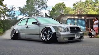 getlinkyoutube.com-【搬出動画②】夏ドレ 2016 シャコタン VIPカー 車高短 エアサス Lowered exhaust Low car