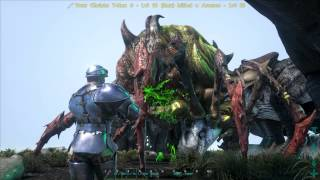 getlinkyoutube.com-ARK: Survival Evolved 8 T-Rex vs Broodmother GTX 980 Ti Epic settings Gameplay