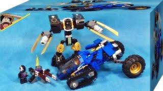 getlinkyoutube.com-레고 닌자고 제이의 썬더 레이더, 콜의 어스 로봇 70723 조립 리뷰 Lego Ninjago Thunder Raider