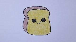 getlinkyoutube.com-Como desenhar uma torrada