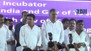 KTR, Harish Rao launch TS' 1st Medical Devices Park - at hyderabad ( sultanpur )