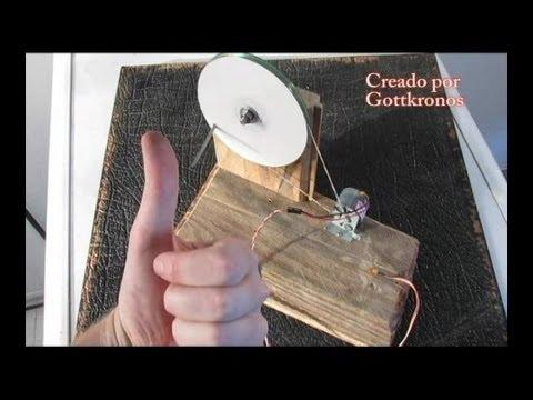 Generador energía casero - fácil y rápido (Free energy generator - easy and quick)