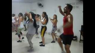 getlinkyoutube.com-Dança aeróbica com Professor Davis Rodrigo gatinha assanhada