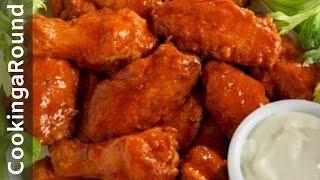 getlinkyoutube.com-Buffalo Chicken Wings - Spicy  (Easy)(Fast)