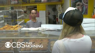California community buys out donuts so shop owner can spend time with sick wife width=