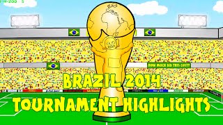getlinkyoutube.com-WORLD CUP 2014 HIGHLIGHTS by 442oons (Brazil 2014 World Cup Review Compilation Clips)