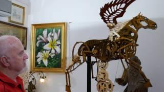 getlinkyoutube.com-Wooden Kinetic Sculptures