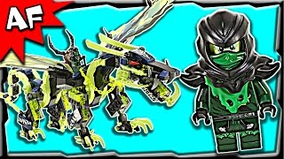 getlinkyoutube.com-Lego Ninjago Attack of MORRO DRAGON 70736 Ghost Army Stop Motion Build Review