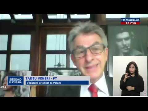 Veneri questiona política de testes no Paraná