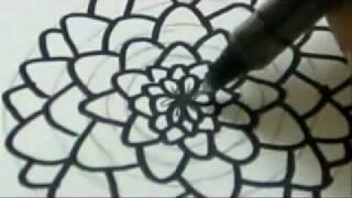 getlinkyoutube.com-How To Draw A Flower - Carnation Flower