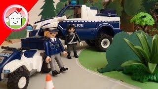 getlinkyoutube.com-Playmobil Film deutsch Polizei Kommissar Overbeck Folge 3 - Die Kühe sind los